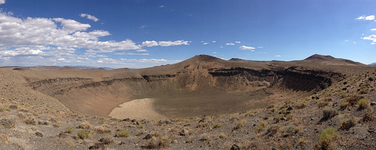 Lunar Crater, near Tonopah Nevada