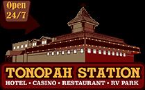 Tonopah Station Hotel Logo