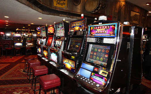 Tonopah Casino Room Slot Machine in Nevada
