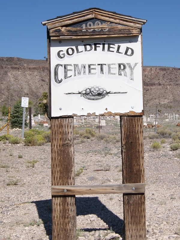 Goldfield, NV Sign