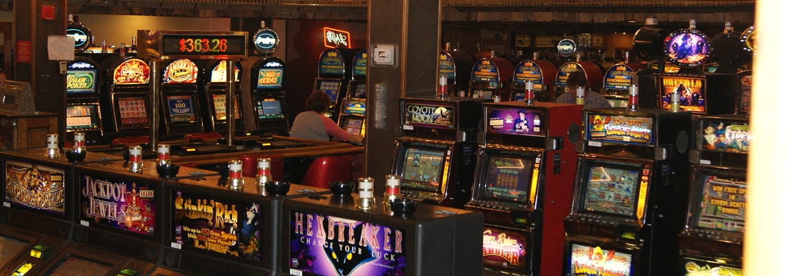 Slot Machines at Our Tonopah NV RV Casino