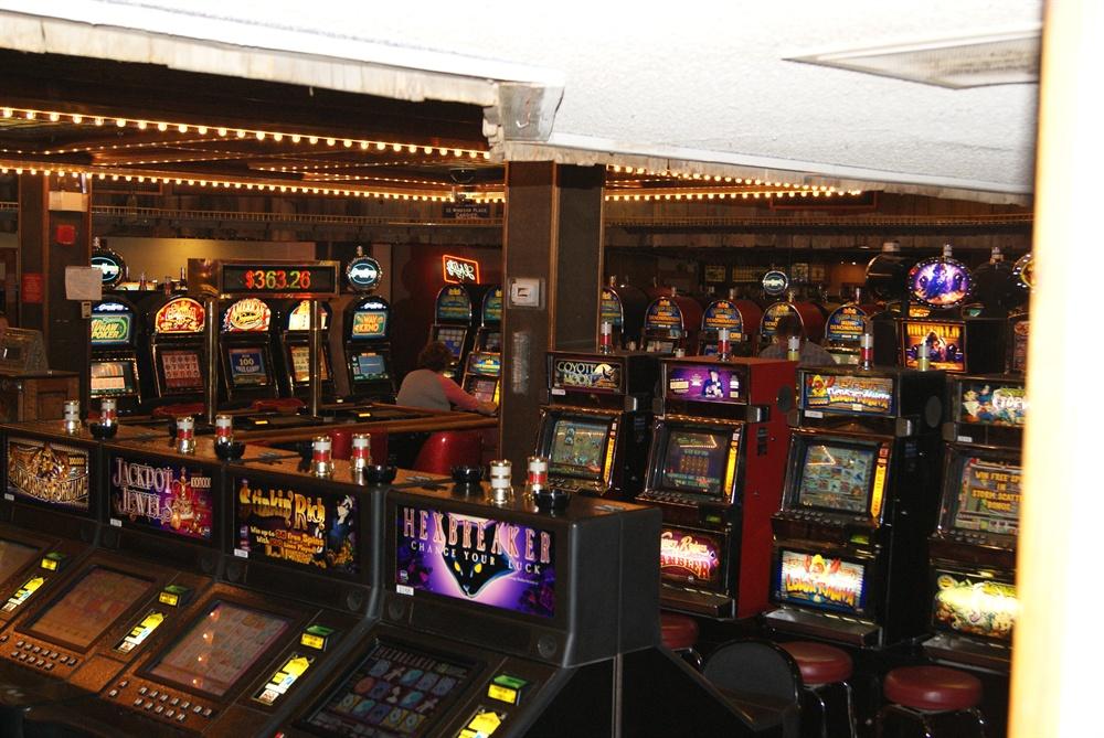 Slot Machines at Tonopah Station Casino