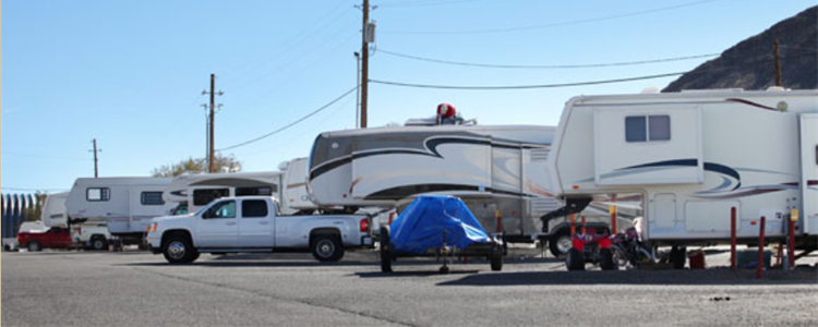 Tonopah Station RV Resort Parking Area